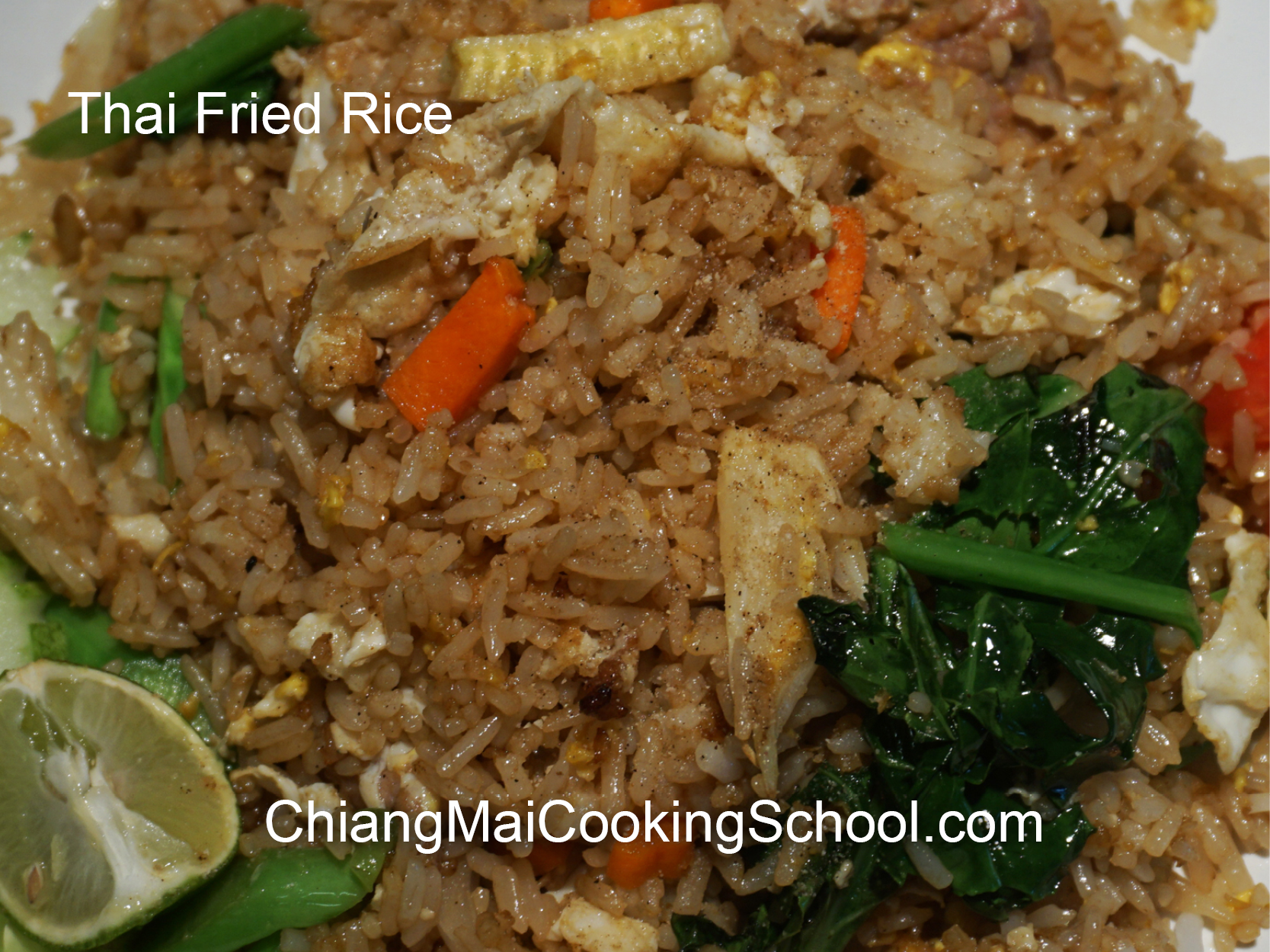 Delicious Fried Rice from Chiang Mai Cooking School